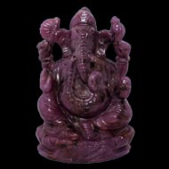 Ruby Ganesh - 760 carats