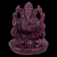 Ruby Ganesh - 858 carats