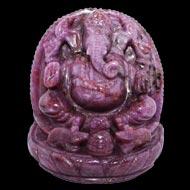 Ruby Ganesh - 982 carats
