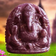 Ruby Ganesh - 180 carats