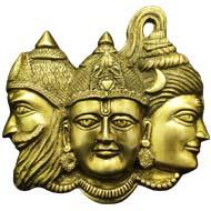 Brahma-Vishnu-Maheshwara - Wall Artifacts