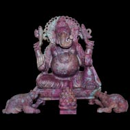 Exotic Natural Ruby MahaGanesh