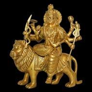 Durga Maa on Lion - XLII