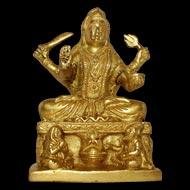 Santoshi Maa in Brass - II