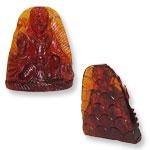 Hanuman in Gomedh - 97.70 carat