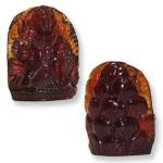 Hanuman in Gomedh - 147 carat
