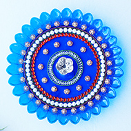 Decorative Puja Thali - I