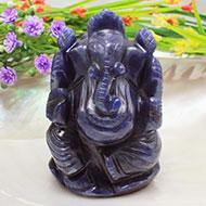 Blue Jade Ganesha - 200 gms
