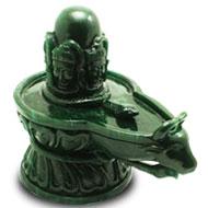 Rare Pashupatinath Shivling in Green Jade - 5920 gms
