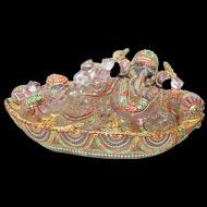Exotic Sphatik Crystal Ganesha