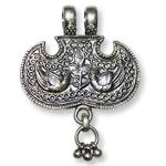 Angel Locket in pure silver