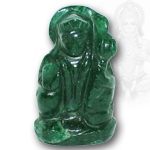 Hanuman in Green Jade - 77 gms