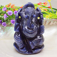 Blue Jade Ganesha - 240 gms