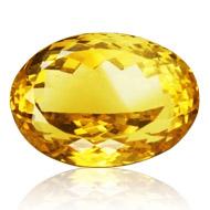 Yellow Citrine - 22.50 Carats
