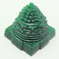Green Jade Shree Yantra - 139 gms
