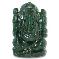 Green Jade Ganesha - 299 gms