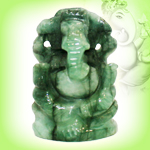 Ganesha in Emerald - 44.40 carats