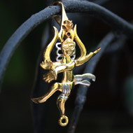 Gold Plated Lord Shiva Locket Pendant