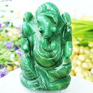Ganesha in Budd Stone - 81 gms