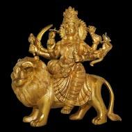 Durga Maa on Lion - XL