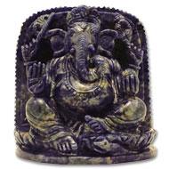 Blue Sodalite Ganesha - 1853 gms