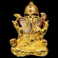 Shree Siddhivinayak Ganesh locket in 22ct pure gold