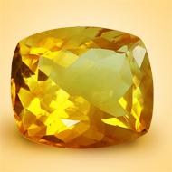Yellow Citrine - 8.50 Carats - Cushion