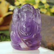 Ganesha in Amethyst - 44 gms