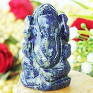 Lapis Lazuli Ganesha - 64 gms