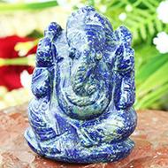 Lapis Lazuli Ganesha - 84 gms
