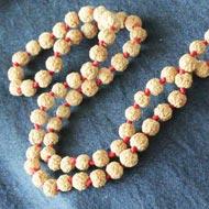 Rudraksha Mala 4mm - Chikna Beads