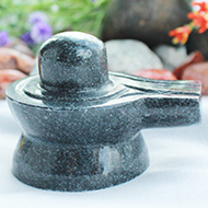 Shivlinga in Black Jade - 100 gms