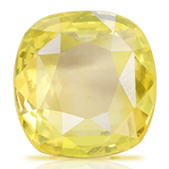 Yellow Sapphire - 6.21 carats