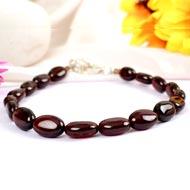 Gomedh Bracelet Oval Beads