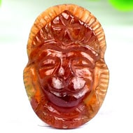 Hanuman Locket in Gomed