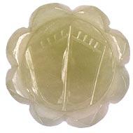 Lakshmi Charan in Light Green Jade - 50 gms