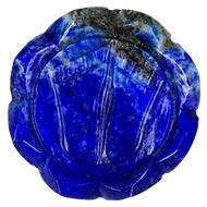 Laxmi Charan in Lapis lazuli - 62 gms