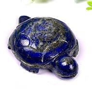 Kurma in Lapis Lazuli - 42 gms