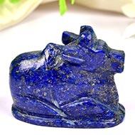 Nandi in Lapis Lazuli - 36 gms - I