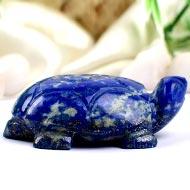 Kurma in Lapis Lazuli - 57 gms