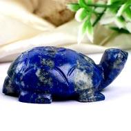 Lapis Lazuli Turtle (Kurma) - 54 gms