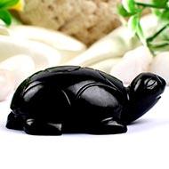 Black Agate Kurma - 60 gms - I