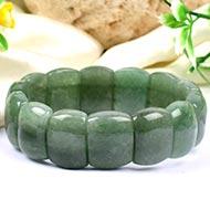 Green Jade Bangle Bracelet