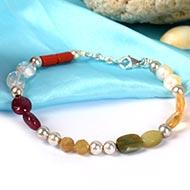Mahashakti gem beads bracelet