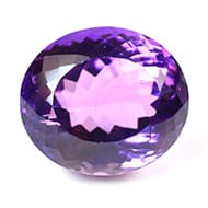 Amethyst - 17.80 carats - Oval