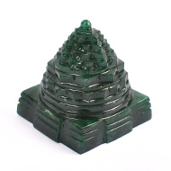 Green Jade Shree Yantra - 131 to 140 gms