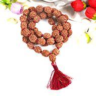 Large 4 mukhi Brahma mala in thread