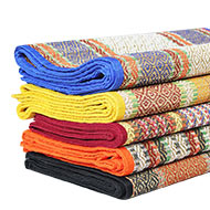 Kusha Grass Mat with Thread Work - 76 x 36 Inches