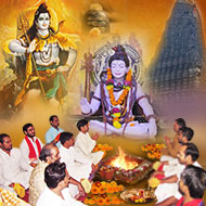 Laghu Rudra Puja at Trimbakeshwar Temple