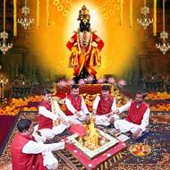 Lord Vitthal Puja